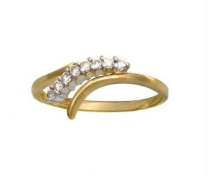 Kiara Traditional Shape Diamond Ring Kir0070