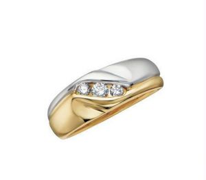 Kiara Solid Shape American Diamond Ring Kir0093