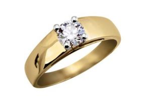 Kiara Solitiare American Diamond Ring Kir0100