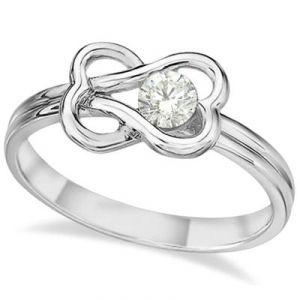 Kiara Solitiare American Diamond Ring Kir0114