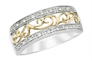 Kiara Band American Diamond Ring Kir0188