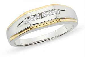 Kiara White Gold Plated Ad Ring Kir0223
