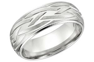 Kiara White Gold Plated Ring Kir0230