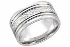 Kiara White Gold Plated Ring Kir0231