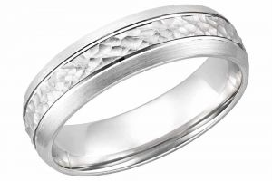 Kiara White Gold Plated Ring Kir0232