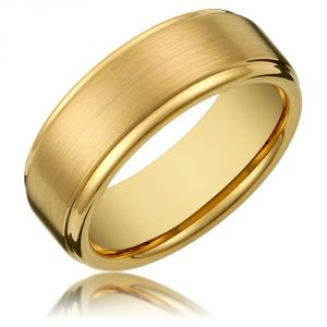 Kiara Yellow Gold Plated Ring Kir0237