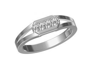 Kiara Women's Clothing - Kiara  Sterling Silver Komal Ring  KGR319W