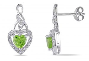 Kiara Swarovski Elements White Gold Plated Earring Kie0296