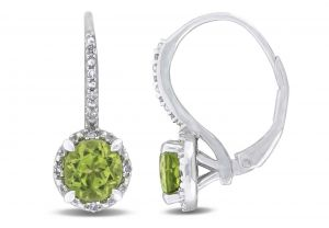 Kiara Swarovski Elements White Gold Plated Earring Kie0297