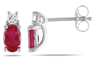 Kiara Swarovski Elements White Gold Plated Earring Kie0314