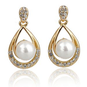 Kiara Swarovski Elements Yellow Gold Plated Earring Kie0341