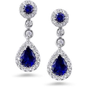Kiara Sterling Silver Hyderabad Earring Kie0766