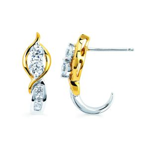 Silver Earrings - Kiara Sterling Silver Supriya Earring (Code - KIE0919)