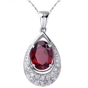 Kiara Sterling Silver Pendant Made With Cubic Zirconia Stone( Code - Kip0192 )