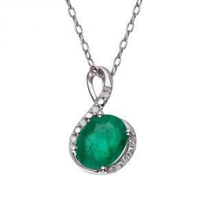 Kiara Sterling Silver Pendant Made With Cubic Zirconia Stone( Code - Kip0194 )
