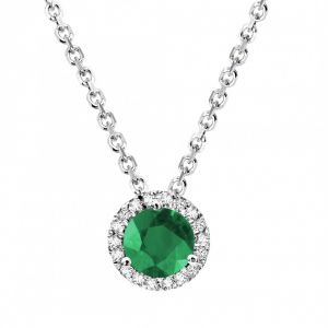 Kiara Sterling Silver Pendant Made With Cubic Zirconia Stone( Code -kip0197 )