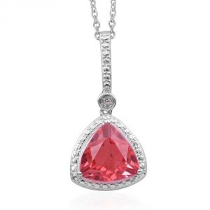Kiara Sterling Silver Pendant Made With Cubic Zirconia Stone( Code - Kip0202 )