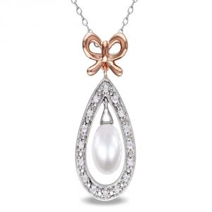 Kiara Sterling Silver Pendant Made With Cubic Zirconia Stone( Code - Kip0231 )