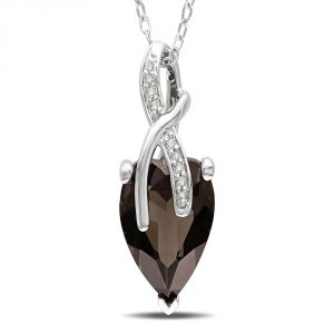 Kiara Sterling Silver Pendant Made With Cubic Zirconia Stone( Code - Kip0232 )