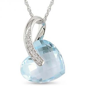 Kiara Sterling Silver Pendant Made With Swarovski Zirconia # Kip0256
