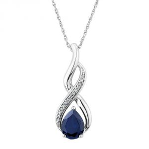 Kiara Sterling Silver Pendant Made With Cubic Zirconia Stone( Code - Kip0257 )