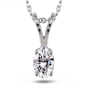 Kiara Sterling Silver Pendant Made With Cubic Zirconia Stone( Code - Kip0271 )