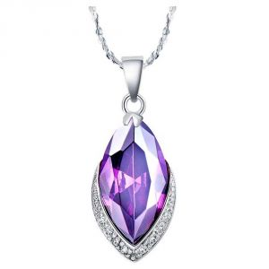 Kiara Sterling Silver Pendant Made With Swarovski Zirconia Kip0277