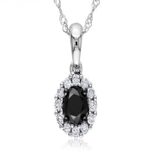 Kiara Sterling Silver Pendant Made With Cubic Zirconia Stone( Code - Kip0280 )