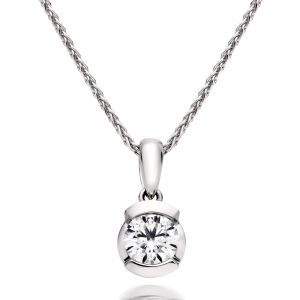 Kiara Sterling Silver Pendant Made With Swarovski Zirconia Kip0307
