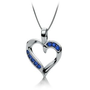 Kiara Sterling Silver Pendant Made With Cubic Zirconia Stone( Code - Kip0348 )