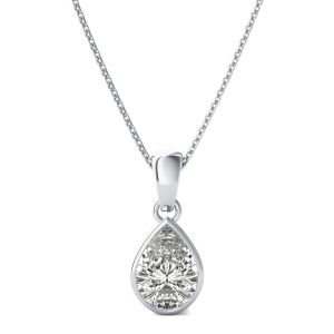 Silver Pendant Sets - Kiara Sterling Silver Naina Pendant KIP0789