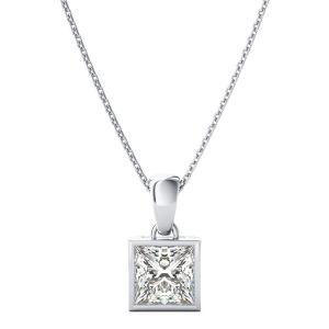 Silver Pendant Sets - Kiara Sterling Silver Pooja Pendant KIP0798