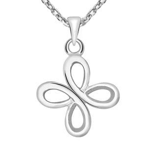Kiara Sterling Silver Asmita Pendant (Code - KIP935)