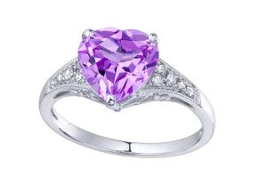Kiara Sterling Silver Ring Made With Swarovski Zirconia # Kir0283