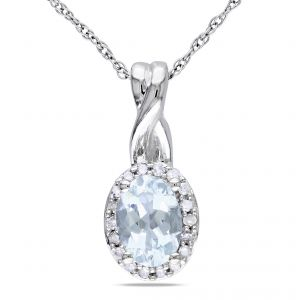Kiara Sterling Silver Pendant Made With Swarovski Zirconia Kip0289