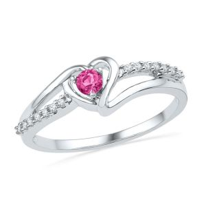 Kiara Sterling Silver Ring Made With Swarovski Zirconia # Kir0322