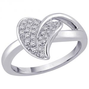 Kiara Sterling Silver Ring Made With Swarovski Zirconia # Kir0358