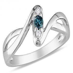Kiara Sterling Silver Ring Made With Cubic Zirconia Stone( Code - Kir0428 )