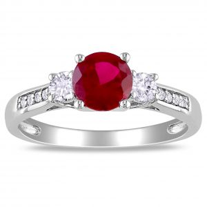 Kiara Sterling Silver Ring Made With Swarovski Zirconia Kir0451
