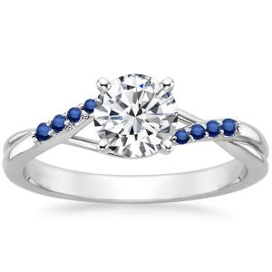 Kiara Sterling Silver Ring Made With Swarovski Zirconia Kir0506