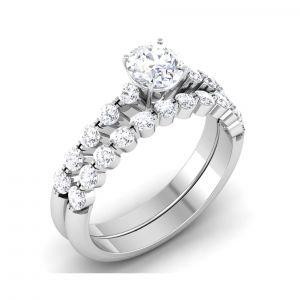 Gold Jewellery - Kiara Sterling Silver Priyanka Women Ring Size KIR1751B