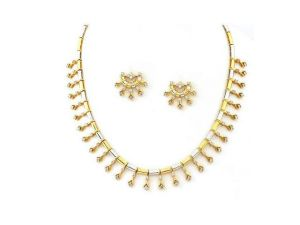 3.75 Ct Diamond Engagement Necklace Set
