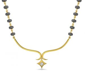 Avsar Real Gold And Diamond Kolkatta Necklece10
