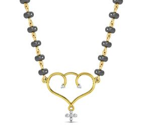 Avsar Real Gold And Diamond Madras Necklece5