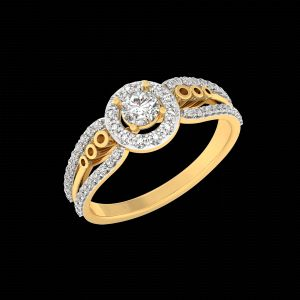 Kiara Sterling Silver Payal Ring R-2957b