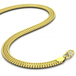 Gold Jewellery - Avsar 18k Gold 16 Inch Shrin Chain