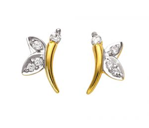 Tarang Real Diamond Eight Stone Earring Tae029