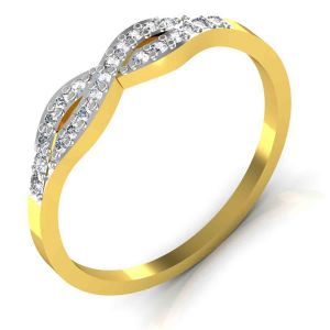 Avsar Real Gold And Diamond Sachi Ring Tar027a