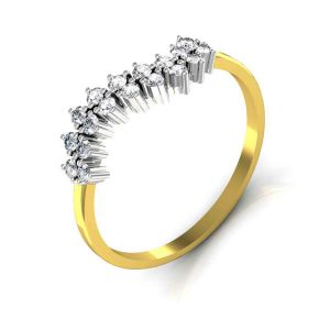 Avsar Real Gold And Diamond Anjali Ring Tar029a