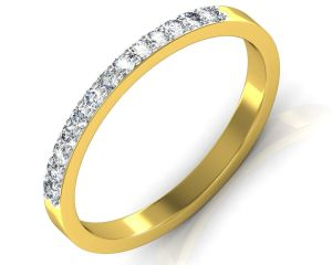 Avsar Real Gold And Diamond Kaveri Ring Intr080a